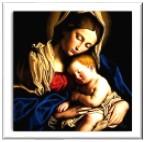 Tamatina Jesus Canvas Paintings - Mother Mary & Baby Jesus ...